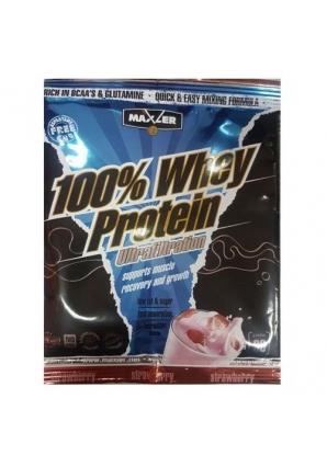100% Ultrafiltration Whey Protein 30 гр (Maxler)