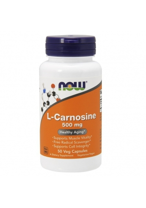 L-Carnosine 500 мг 50 капс (NOW)