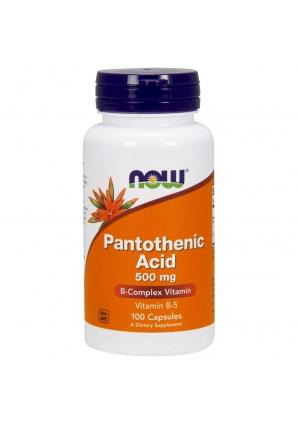 Pantothenic Acid 500 мг 100 капс (NOW)