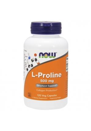 L-Proline 500 мг 120 капс (NOW)