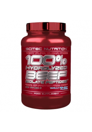 100% Hydrolyzed Beef Isolate Peptides 900 гр (Scitec Nutrition)