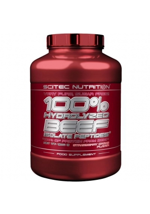 100% Hydrolyzed Beef Isolate Peptides 1800 гр (Scitec Nutrition)