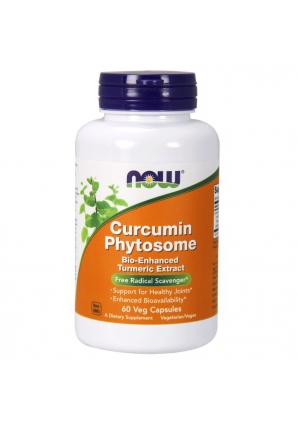 Curcumin Phytosome 60 капс (NOW)