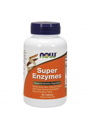 Super Enzymes 90 табл (NOW)