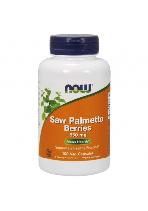 Saw Palmetto Berries 550 мг 100 капс (NOW)