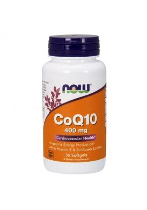 CoQ10 400 мг 30 гель-капс (NOW)