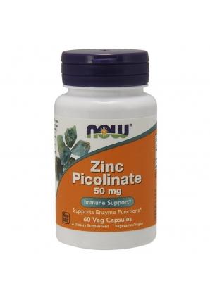 Zinc Picolinate 50 мг 60 капс (NOW)