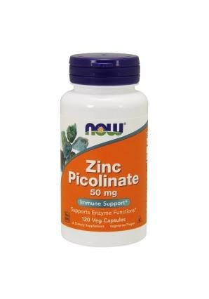 Zinc Picolinate 50 мг 120 капс (NOW)