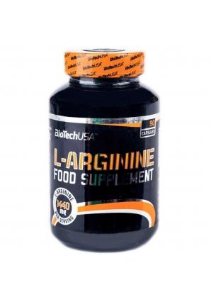 L-Arginine 90 капс (Biotech USA)