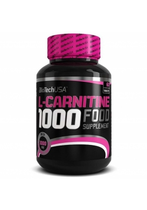 L-Carnitine 1000 мг 60 табл (BiotechUSA)