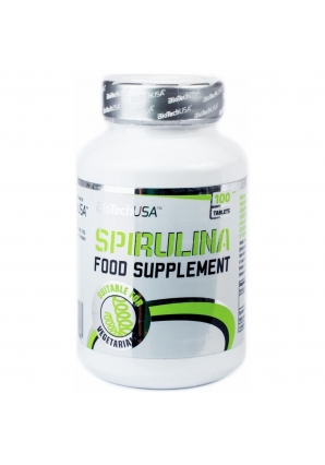 Spirulina 100 табл (BiotechUSA)