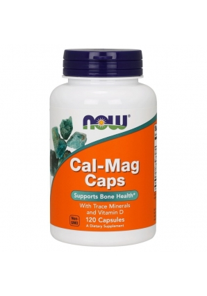 Cal-Mag Caps 120 капс (NOW)
