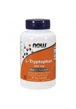 L-Tryptophan 500 мг 60 вег.капс (NOW)