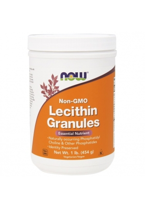 Lecithin Granules Non-GMO 454 гр - 1 lb (NOW)
