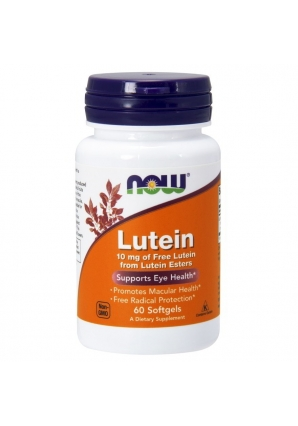 Lutein 10 мг 60 капс (NOW)