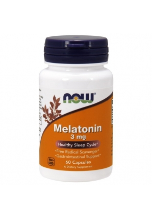 Melatonin 3 мг 60 капс (NOW)