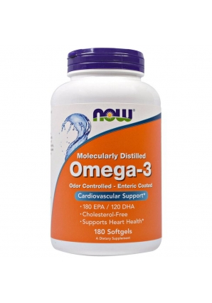 Omega-3 1000 мг 180 капс (NOW)