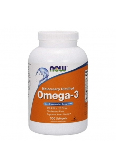 Omega-3 1000 мг 500 капс (NOW)