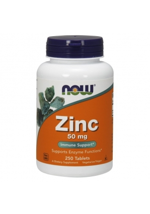 Zinc Gluconate 50 мг 250 табл (NOW)