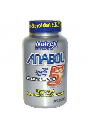 Anabol-5 120 капс. (Nutrex)