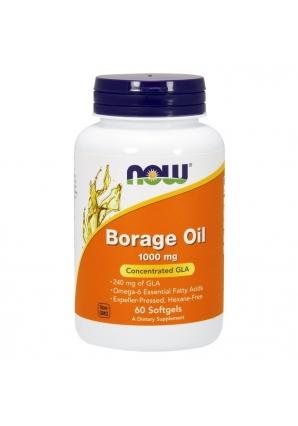 Borage Oil 1000 мг 60 капс (NOW)