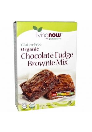 Смесь для приготовления шоколадного печенья 454 гр (NOW)