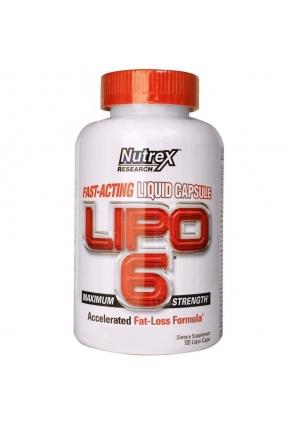 Lipo-6 120 капс. (Nutrex)