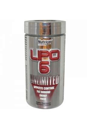 Lipo-6 Unlimited 120 капс. (Nutrex)