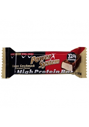 High Protein Bar 1 шт 35 гр (Power System)