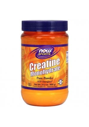 Creatine Monohydrate Powder 600 гр (NOW)