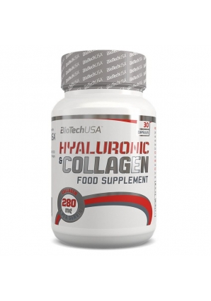 Hyaluronic & Collagen 30 капс (BioTechUSA)