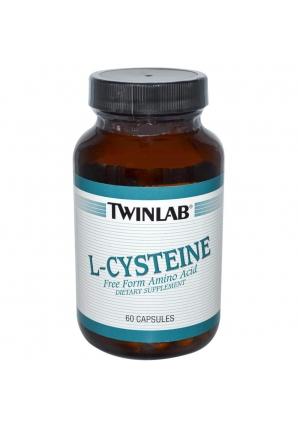 L-Cysteine 500 мг 60 капс (Twinlab)