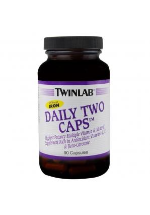 Daily Two Caps 90 капс без железа (Twinlab)