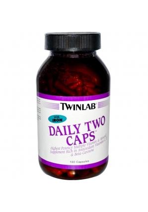 Daily Two Caps 180 капс с железом (Twinlab)