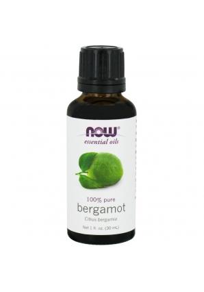 Bergamot Oil 1 oz - 30 мл (NOW)