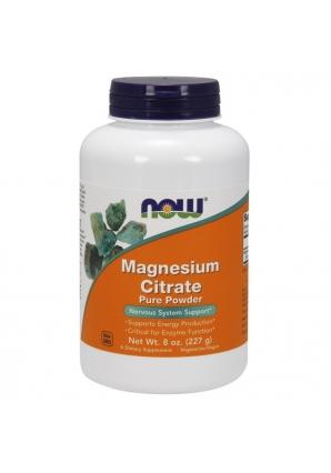 Magnesium Citrate Pure Powder 8 oz. - 227 гр (NOW)