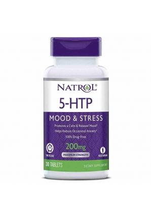 5-HTP Time Release 200 мг 30 табл (Natrol)