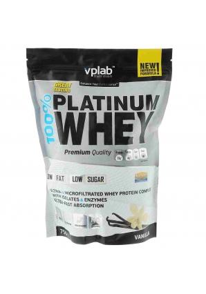 100% Platinum Whey 750 гр (VPLab)