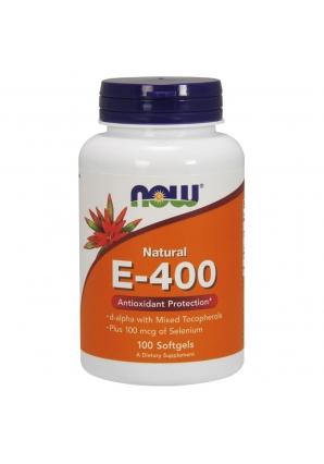 E-400 Mixed + Selenium 100 капс (NOW)
