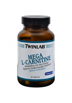 Mega L-Carnitine 60 табл (Twinlab)