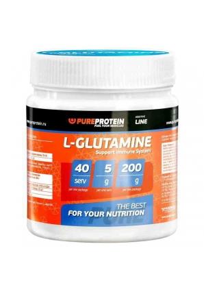 L-Glutamine 200 гр (Pure Protein)