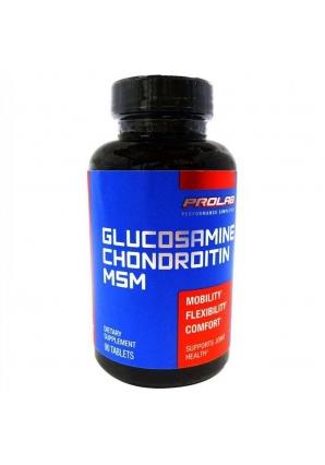 Glucosamine Chondroitine MSM 90 таб (Prolab)
