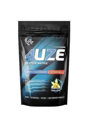 Multicomponent protein 4uze + Glutamin + vitamin C 750 гр (Pure Protein)