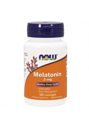 Melatonin 3 мг 180 жев.табл. (NOW)