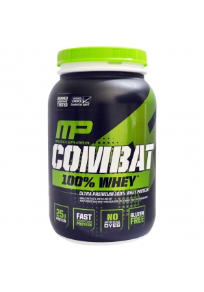 Combat 100% Whey 907 гр 2lb (MusclePharm)