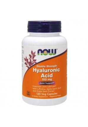Hyaluronic Acid 100 мг 120 капс (NOW)