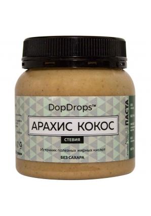 Паста Арахис Кокос, стевия 250 гр (DopDrops)