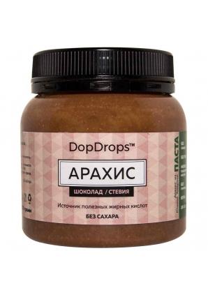 Паста Арахис, шоколад, стевия 250 гр (DopDrops)