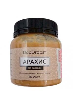 Протеиновая паста Арахис, без добавок 250 гр (DopDrops)
