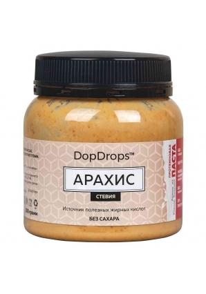Протеиновая паста Арахис, стевия 250 гр (DopDrops)